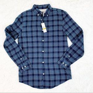 Original Penguin plaid flannel shirt long sleeves
